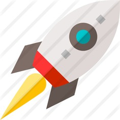 See more icon inspiration related to rocket, startup, transport, rocket launch, rocket ship, space ship and transportation on Flaticon.