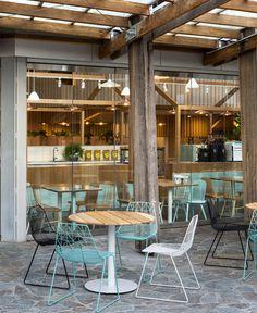 Fashionable Restaurant in Melbourne - #restaurant, #decor, #interior,