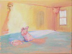 Lolita's PTSD , oil on canvas, 9 x 12 inches, 2016