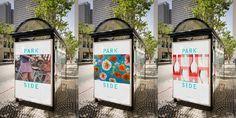 Parkside Bikes #Logo #Type #Logotype #Posters