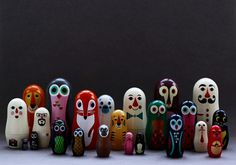My Owl Barn #owl #fox #matrioshka #design #matryoshka #animals #toy