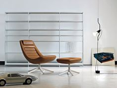 Icon: Manzù Lounge Chair by Pio Manzù from Alias | Daily Icon