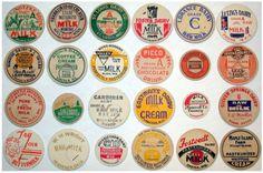 Screen+shot+2011-08-04+at+2.39.11+PM.png 810×537 pixels #vintage #packaging #milk bottle cap