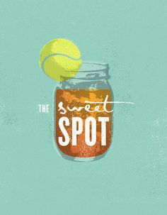 FAMILIY_CIRCLE_CUP_TENNIS_TEA_J_FLETCHER_DESIGN #illustration #poster #tennis #tea