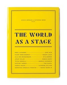 The World As A Stage / Bench.li #yellow #typography