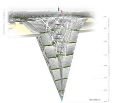 Earthscraper : un concept de gratte-ciel de 65 étages enfoui sous terre