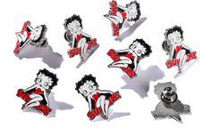 """Supreme®/Betty Boop© Pin 1"""" enamel pin"""