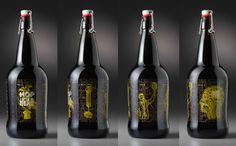 beer, growler, craft, bottle