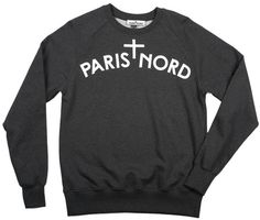 PARIS + NORD #paris #clothing #nord #sweatshirt #fashion #parisnord