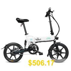 FIIDO #D2 #Folding #Moped #Electric #Bike #E-bike #- #Milk #White