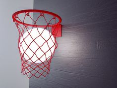 Light Ball | The Coolector #lamp #basket #light ball