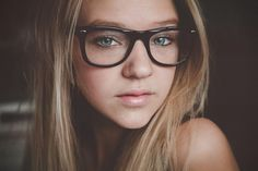 photo #glasses #pretty #girl