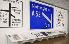 This is Design | Bibliothèque Design #graphic design #typography #british #exhibition #sign #museum #bibliotheque