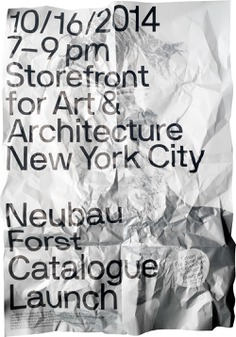 Neubau / NBF NYC, Storefront for Art & Architecture