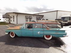 1960 Chevy Parkwood #classic #chevy #patina