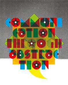 Communication Through Abstraction Kamiel van Kessel #abstract #lettering #adformatie #design #graphic #type #kamielvankesselcom #communication