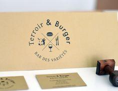 Bar des variétés - graphicwand - graphic design experimentation #graphic design #typography #french #corporate identity #restaurant #burge