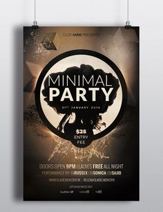 minimal party #minimal #party