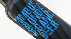 Nimbus Beer #packaging #type #design