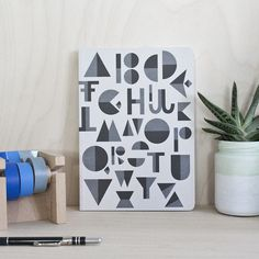 #nordic #design #graphic #illustration #danish #bright #simple #nordicliving #living #interior #kids #room #notebook #alphabet #write #grey