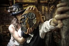 STEAMPUNKHH.jpg (1204×800) #punk #photography #industrial #hat #art #mask #goth #gears