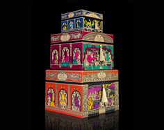lovely package penhaligons christmas 2012 1 #packaging #colourful #decorative #elaborate