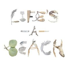 Life's a beach - Eve Li #type #beach #life #typography