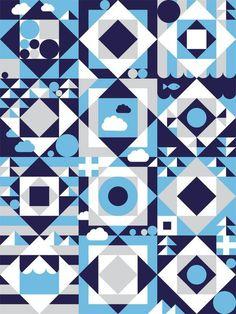 Emil Kozak - Pattern #pattern #geometric