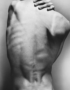 Back #photography #black and white #body #back