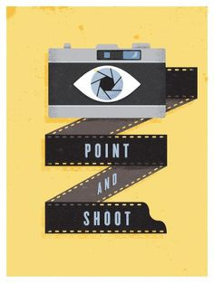 Point and Shoot : the creative work of Brian Hurst #illustration