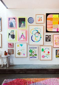 color me happy / sfgirlbybay #interior design #decoration #decor #deco