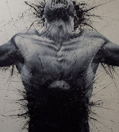 7175 1320408325.jpg (915×1024) #exploding #ink #paolo #chest #body #man #troilo