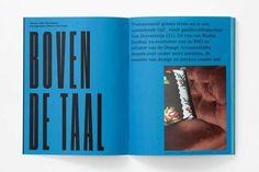 Studio Dumbar #print #editorial #spread #layout