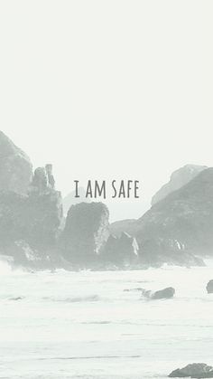 I AM SAFE poster #inspiration #fonts #photography