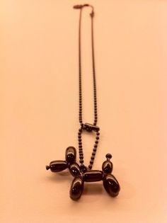 COLETTE TEAM #qpot #koons #black #necklace