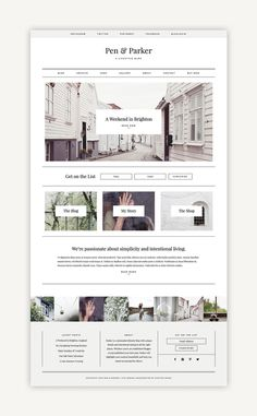 Parker - Premium WordPress Theme from Station Seven