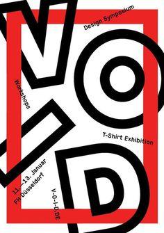 http://www.v o i d.de/ #design #typography #poster #event #workshop