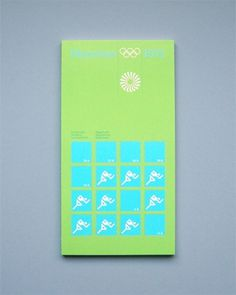 Otl Aicher 1972 Munich Olympics - Regulations #otl #1972 #aicher #olympics #munich