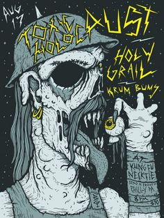 FYI Monday Brunofsky Toxic Holocaust Gig Poster #gig #poster