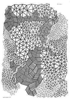 FFFFOUND! | k a t e m o r o s s - client #illustration #drawing #pattern #triangles