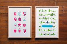tumblr_l6j5w0upRJ1qzon5ko1_1280.jpg 1,024×680 pixels #burrows #print #geometric #wood #jez #poster #framed