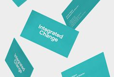 Integrated Change by Nine Sixty #business card