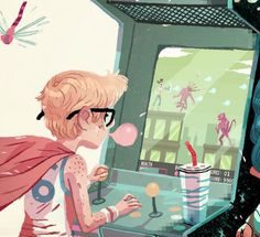 Screen+shot+2011-08-29+at+12.50.02+PM.png (400×365) #illustration #arcade