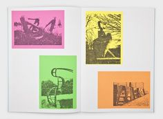 Simon & Tom Bloor : James Langdon #print #design #graphic #book #james #langdon