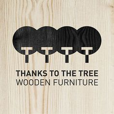thankstothetree.be #tree #shout #design #graphic #wood #nature #logo