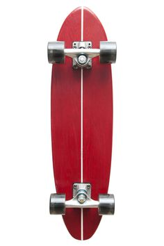 dl skateboard #simple #skateboard #red #surf
