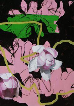 Artist painter Nicolas Kuligowski #mixed media