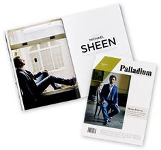 New Work: 'Palladium' | New at Pentagram | Pentagram #editorial #typography