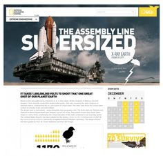 National Geographic blog on the Behance Network #geographic #website #petty #webdesign #national #dann