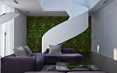 W-House by Sveta Volos #stairs #design #interiors #white